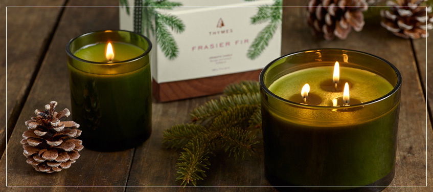Shop Holiday Candles & Fragrances | Thymes & Votivo Holiday Candles