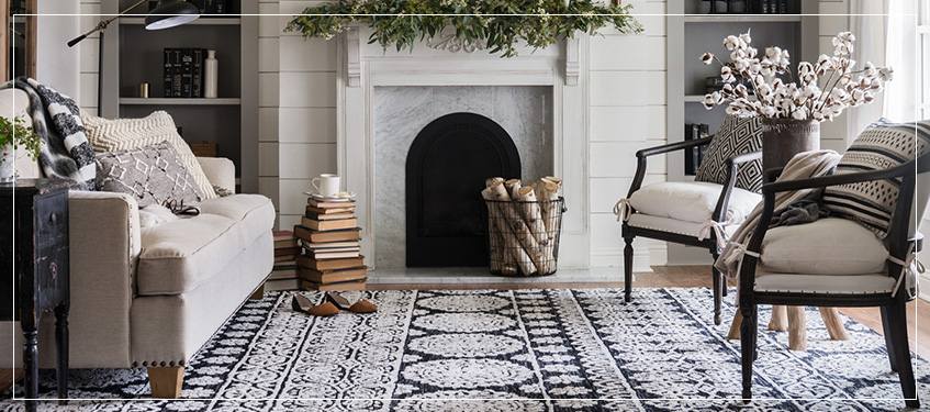 Area Rugs In Living Room Farmhouse Joanna Gaines