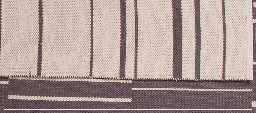 Area Rug with Stripe Design | High End Rugs with Patterns