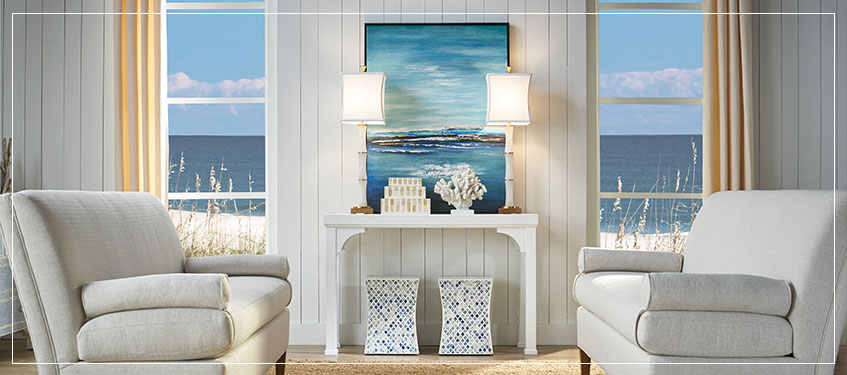 Oh Say Can You Sea? | Coastal Home Decor Trend Summer 2018
