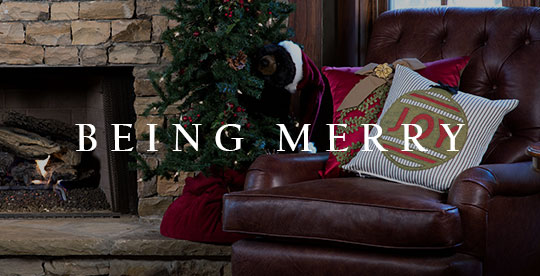 Holiday Decor | Christmas Pillows and Personalized Stockings