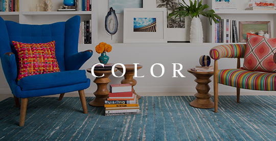 Colorful Home Decor | Brightly Colored Rugs, Lamps and Vases