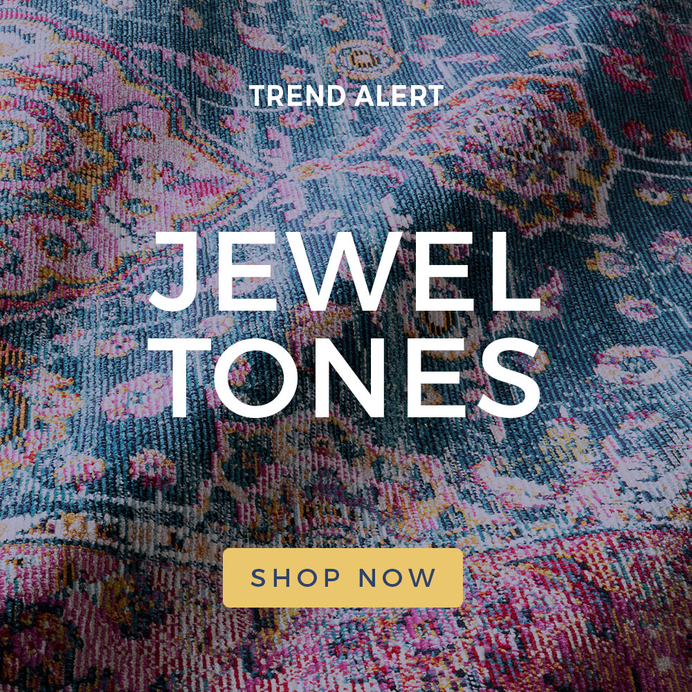 Jewel Tones | Summer 2019 Trends Home Decor