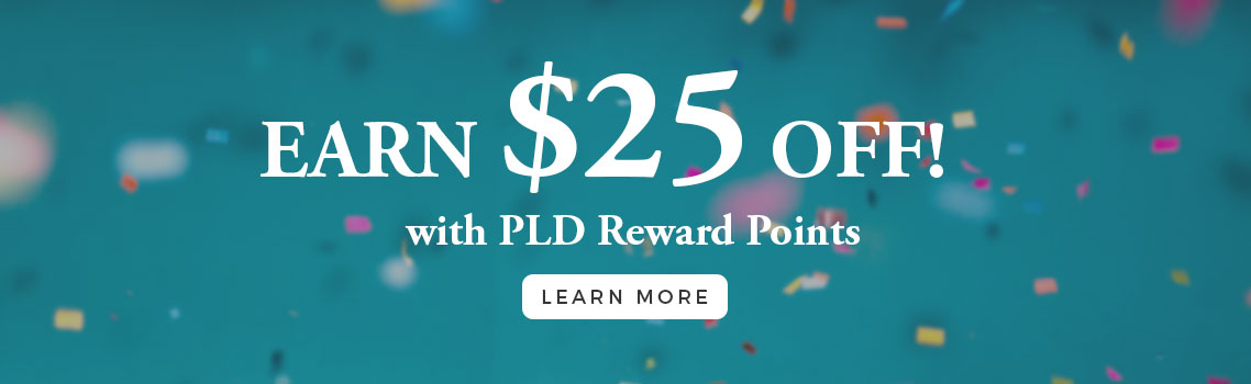 PLD Reward Points Program | Get points for every dollar spent | Luxury Home Decor