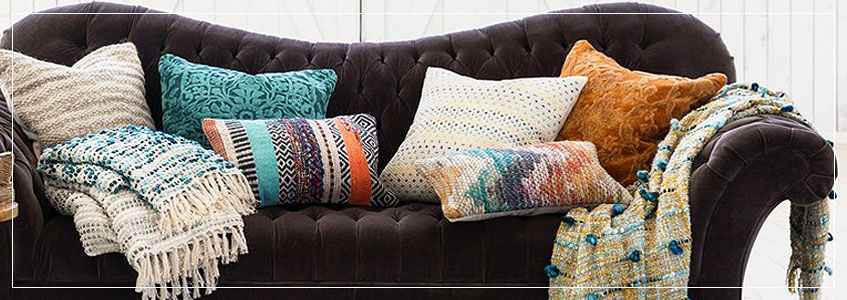 Home Decor Trend 2017 | Soft Throws & Pillows, Scented Candles & Designer Rugs
