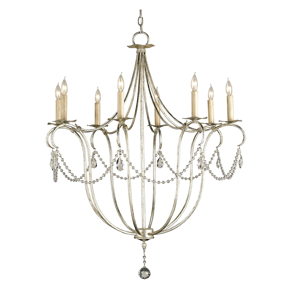 Currey Company Lighting Crystal Light Chandelier Large