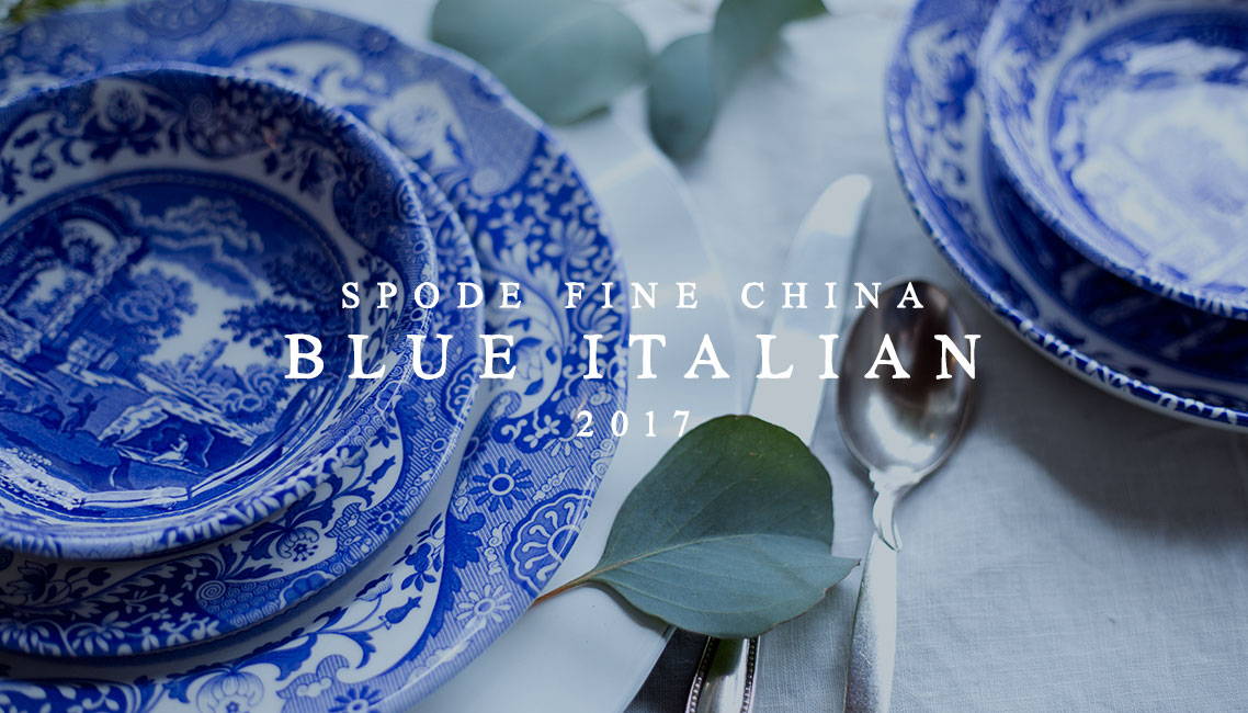 Spode Blue Italian Fine China | Spring Tablescape Blue & White Spode China