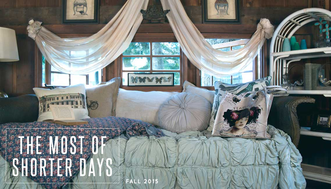 Peace, Love & Decorating Fall 2015 | Designer Inspiration Lookbook