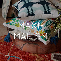 Maximalism Design Trend 2018 | Patterns & Bold Colors