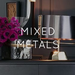 Mixed Metals - 2018 Home Decor Trend
