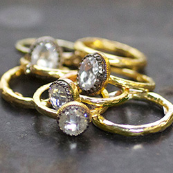 Luxury Designer Rings & Jewelry | Custom Stackable Rings | Gold & Silver