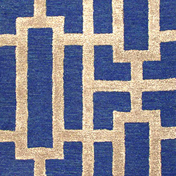 Luxury Home Decor | Blue Designer Area Rugs | Blue Rug for Modern Home