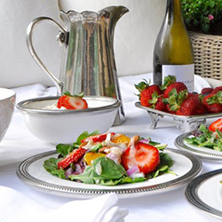 Salad & Dessert Plates | Dinnerware | Peace, Love & Decorating