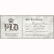 $150 Gift Certificate | PLD Gift Certificate