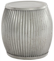 Aidan Gray Home Galvanized Planter/Side Table