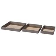Aidan Gray Home Accessories Harriet Tray Set D502 SET