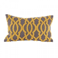 Aidan Gray Home Accessories Ripples Pillow PL12 RIP NM