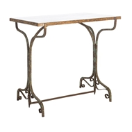 Aidan Gray Home Ashiya Marble Small Table