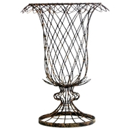 Aidan Gray Home Large Tulip Basket 625GR-Wire