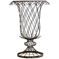 Aidan Gray Home Small Tulip Basket 627GR-Wire