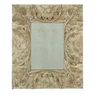 Aidan Gray Wall Decor Rolling Scroll Mirror DM240-Wood