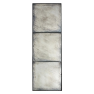 Aidan Gray Home Wall Decor Three Panel Large Antiqued Mirror