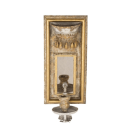 Aidan Gray Lighting Beverley Wall Sconce Candlestick - Pair