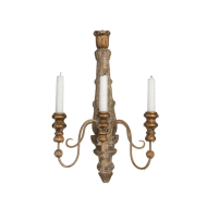 Aidan Gray Lighting Broncante Wall Sconce Candlestick