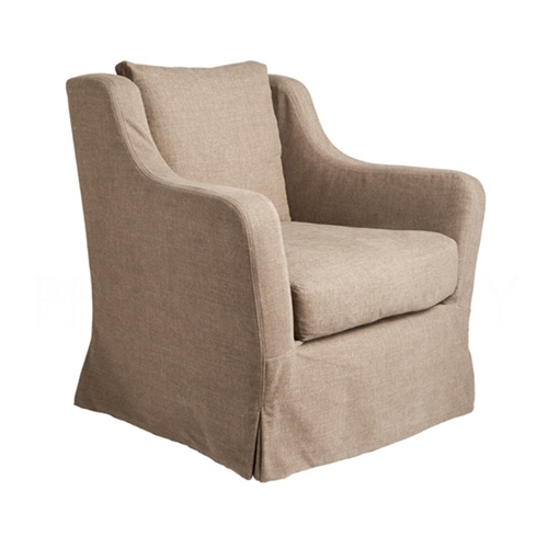 Aidan Gray Home Matthew Swivel Chair - Wood CH715