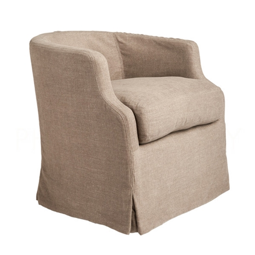 Aidan Gray Home Michael Swivel Chair - Wood CH713