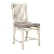Aidan Gray Home Staffan Dining Chair - Antique Gray & Cement - Pair