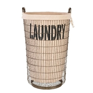 Aidan Gray Home Laundry Basket - Pair
