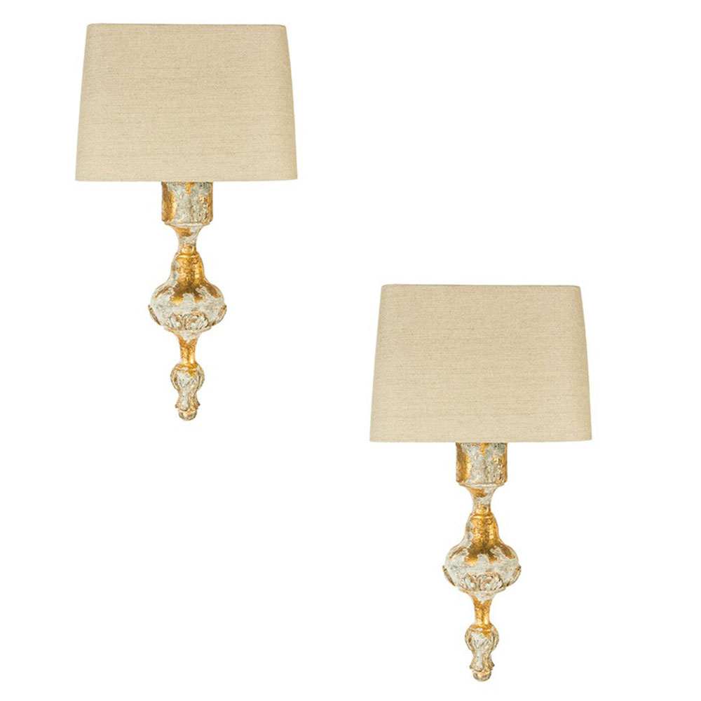 Aidan gray lighting fergus wall sconces pair wl302 free shipping aidan gray lighting fergus wall sconces pair geotapseo Image collections