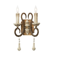 Aidan Gray Lighting Foix Double Arm Wall Sconce - Pair