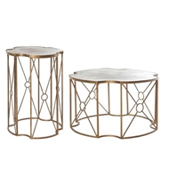 Aidan Gray Home Marlene Coffee and Side Table