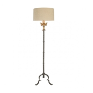 Aidan Gray Lighting Marshal in Gold Floor Lamp - Pair