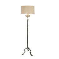 Aidan Gray Lighting Marshal in Silver Floor Lamp - Pair