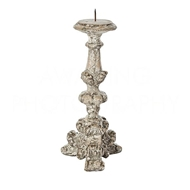 Aidan Gray Lighting Parisian Candlestick, Distressed Gray C975 Distressed Gray