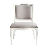 Aidan Gray Home Arch Back Dining Chair CH456 WWTO Waxed White
