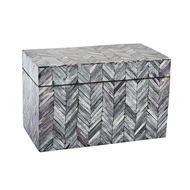 Aidan Gray Home Caroline Jewelry Box D615 Bone