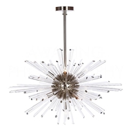 Aidan Gray Home Lighting Kepler Chandelier in Nickel