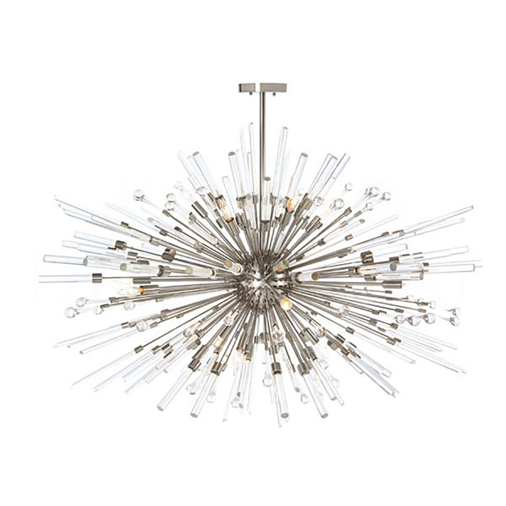 Aidan gray goliath star chandelier in nickel free shipping aidan gray home lighting goliath star chandelier in nickel mozeypictures Image collections