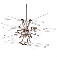Aidan Gray Home Lighting Solitude Chandelier, Nickel