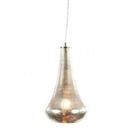 Aidan Gray Lighting Pia Pendant L710 NKL PEN HOM Silver