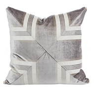 Aidan Gray Argent Collection No. 10 P22 ARG NO10 Gray & Cream/Velvet