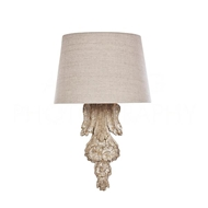Aidan Gray Lighting Gallatin Wall Sconce WL303 Distressed White
