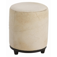Arteriors Home Furnishings Wimberley Ottoman With White Finish In White
