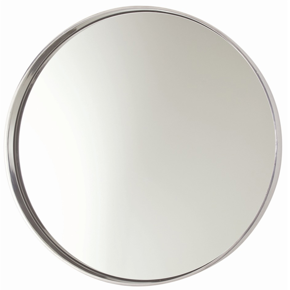 Arteriors Wall Decor Ollie Mirror With Polished Nickel Finish