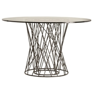 Arteriors Home Furnishings Rawlins Dining Table With Natural Finish In Gray