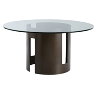 Arteriors Home Thatcher Entry Table With Natural Iron Finish